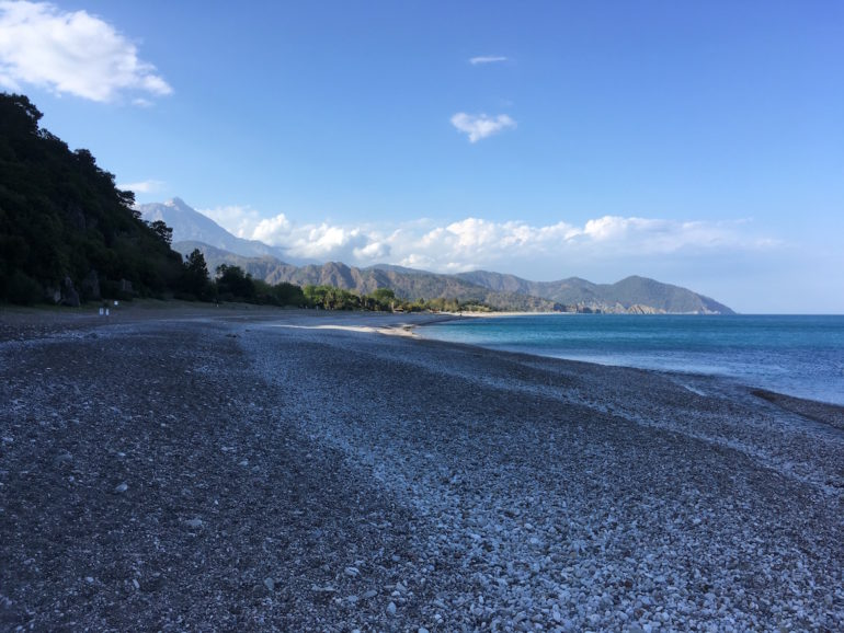 Antalya alternativ: Olympos Beach