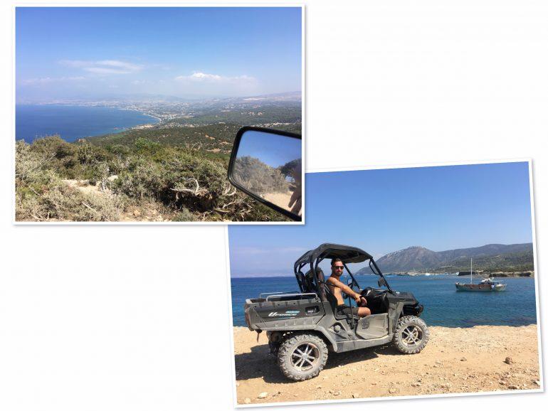 Zypern - Blue Lagoon mit Buggy