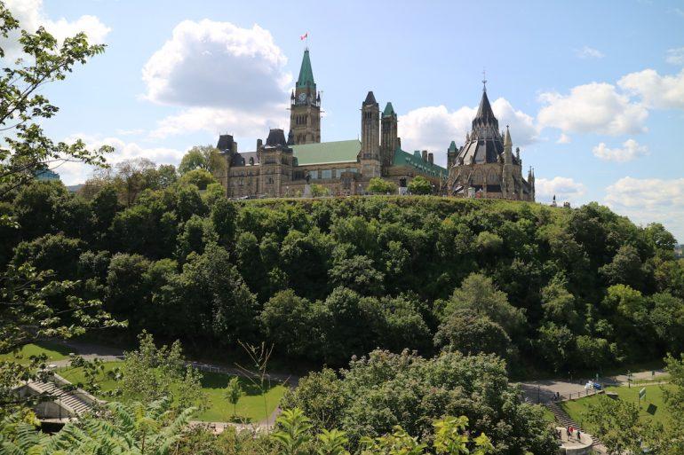Great Trail - Parlamentsgebäude Ottawa