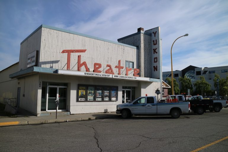 Das Yukon-Theater in Whitehorse