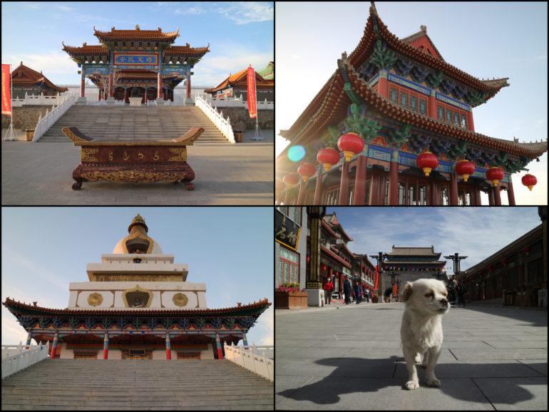 Innere Mongolei: Tempel in Alxa Left