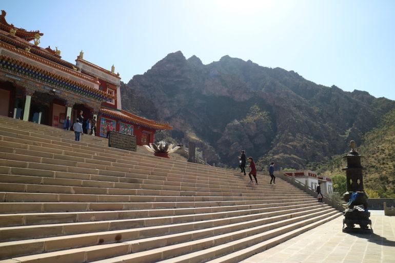 Innere Mongolei: Eingang zum Guangzong Tempel