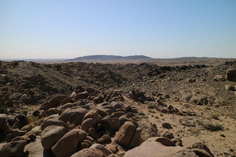 Innere Mongolei: Ausblick vom Mandela Mountain