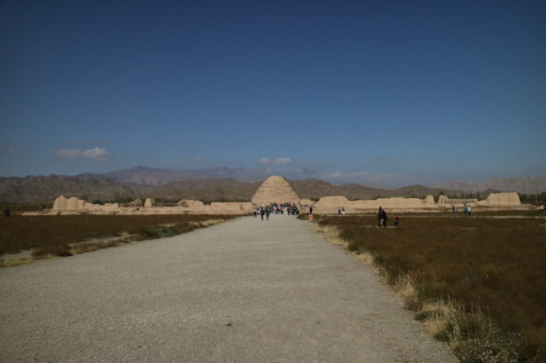 Innere Mongolei: Xixia Kaisergräber