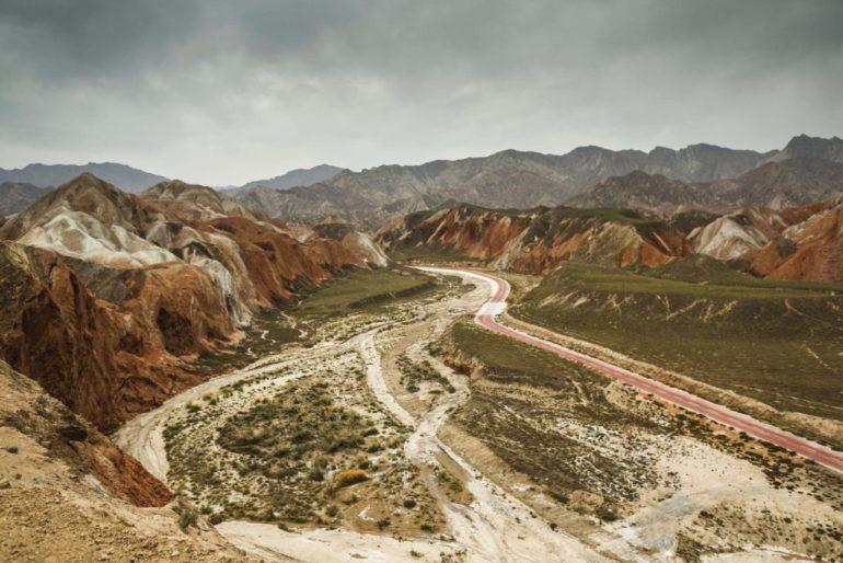 Dakar Rally in China: berge und Steppe in der Wüste Gobi