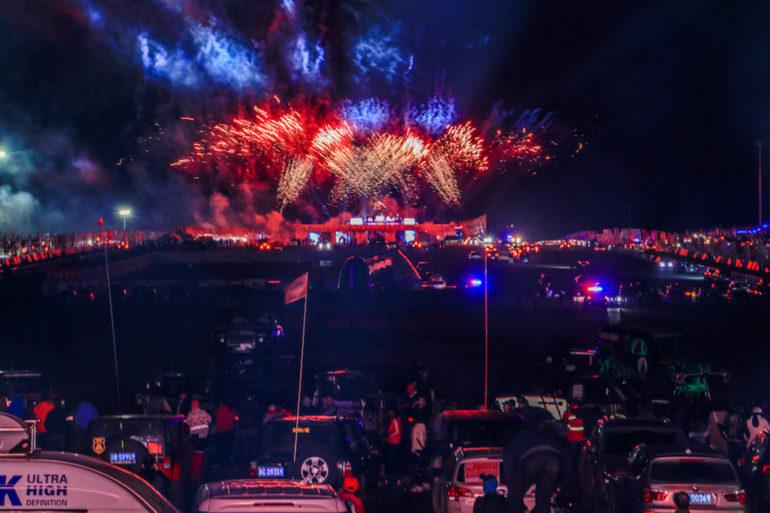 Feuerwerk beim FB Life Festival