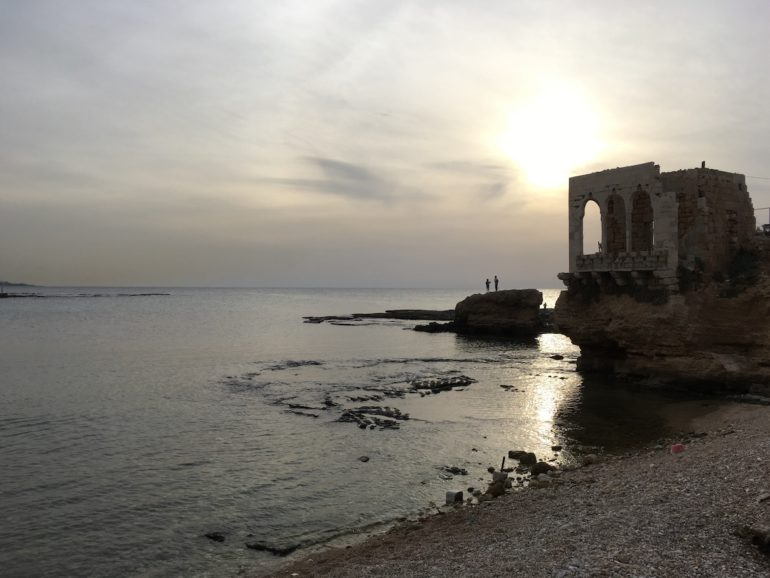 Batroun Libanon Sonnenuntergang