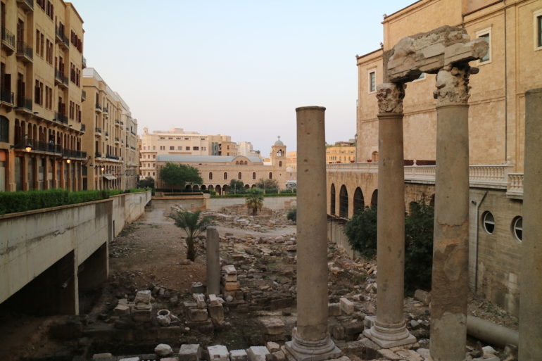 Römische Bäder Beirut