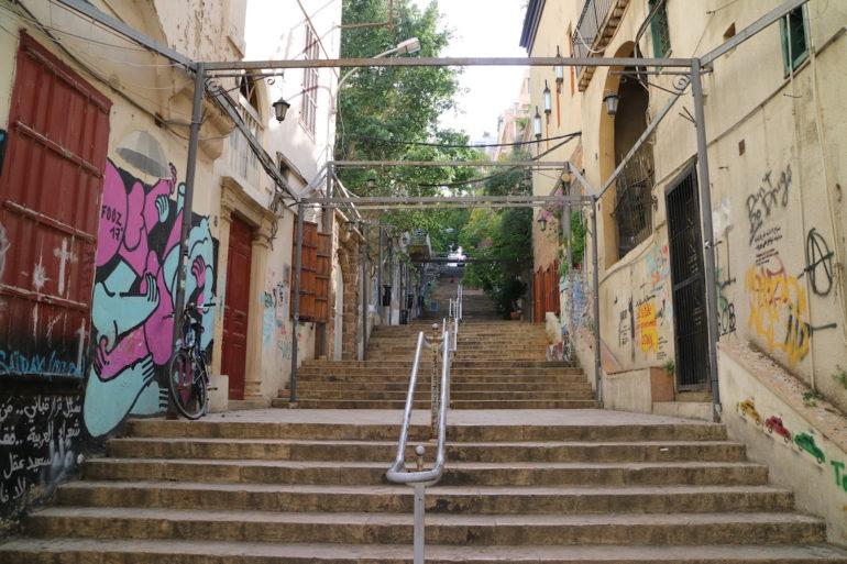 St. Nicholas Stairs Beirut