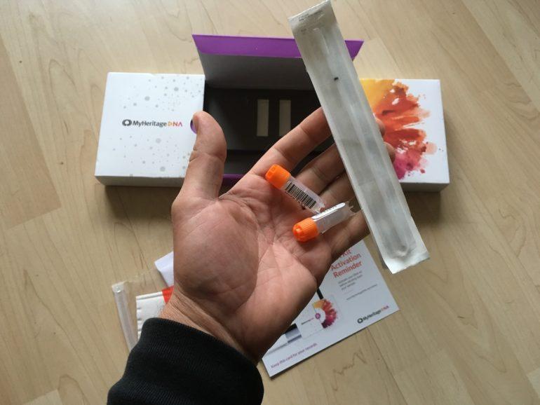 DNA-Analyse: Die Teströhrchen