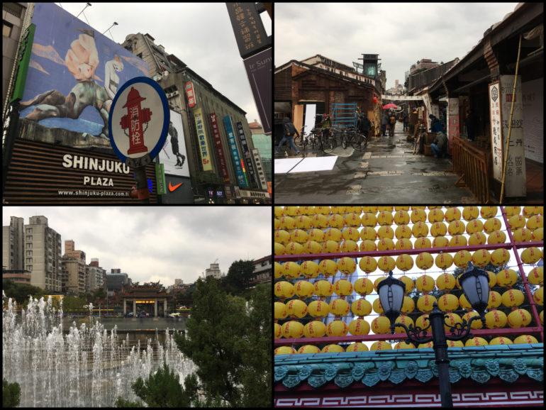 Taipei Sehenswürdigkeiten: Taipei Alt und Neu