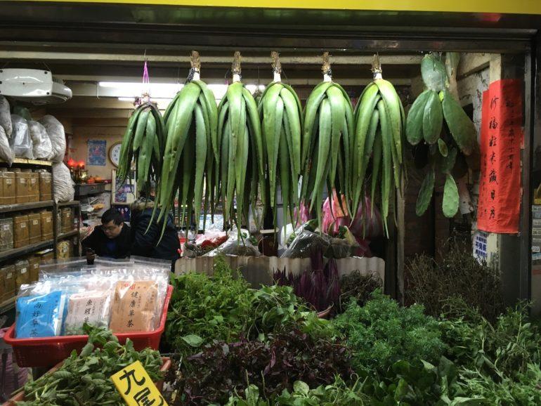 Taipei Sehenswürdigkeiten: Kräuter in der Herbal Alley beim Longshan Tempel Taipei