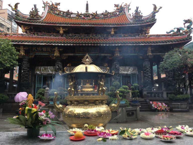 Taipei Sehenswürdigkeiten: Longshan Tempel Taipei