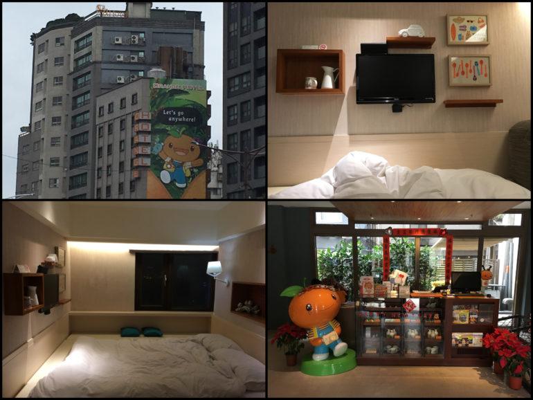 Taipei Sehenswürdigkeiten: Orange Hotel Ximen