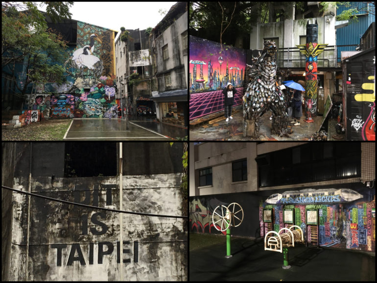Taipei Sehenswürdigkeiten: Taipei Street Art