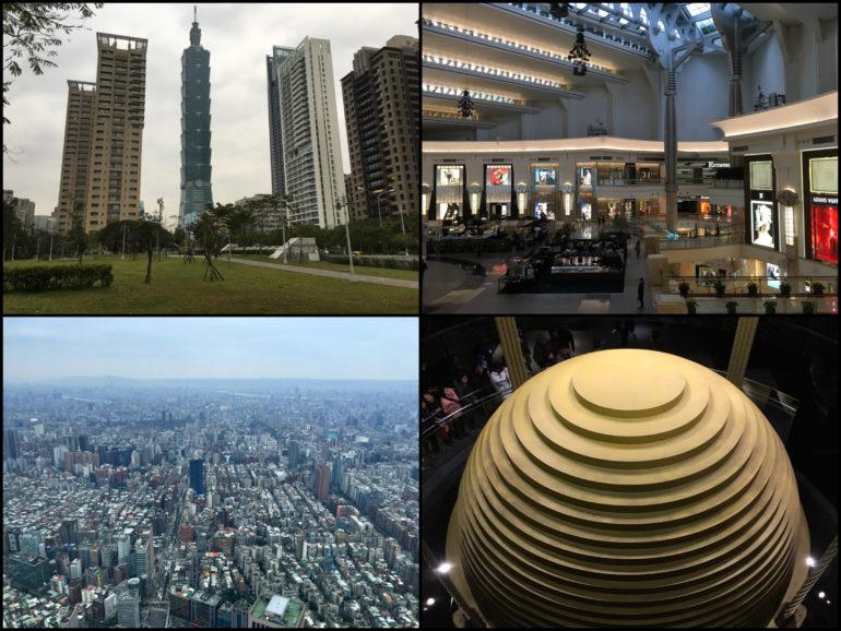 Taipei Sehenswürdigkeiten: Taipei 101 von innen und außen