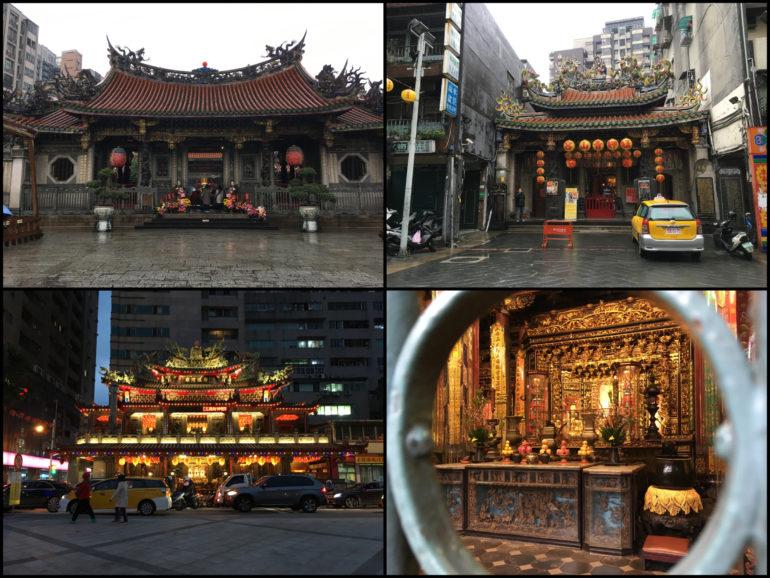 Taipei Sehenswürdigkeiten: Tempel in Taipei