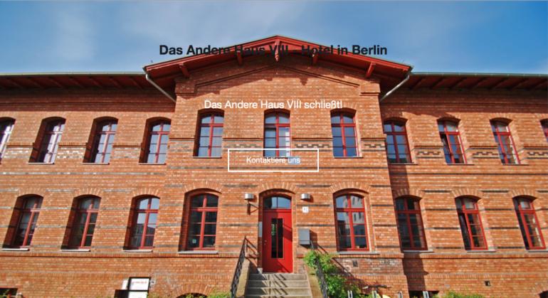 Außergewöhnliche Hotels Berlin: Das Andere Haus VIII