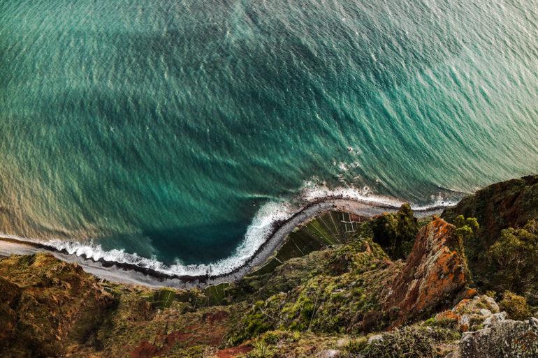 Madeira Sehenswürdigkeiten - Cabo Girao - 580 Meter über dem Meer