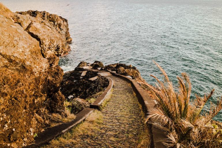 Madeira Sehenswürdigkeiten - Canico - Blick aufs Meer