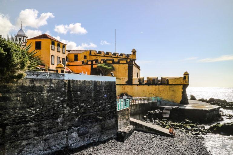 Madeira Sehenswürdigkeiten - Fortaleza do Pico de Sao Joao