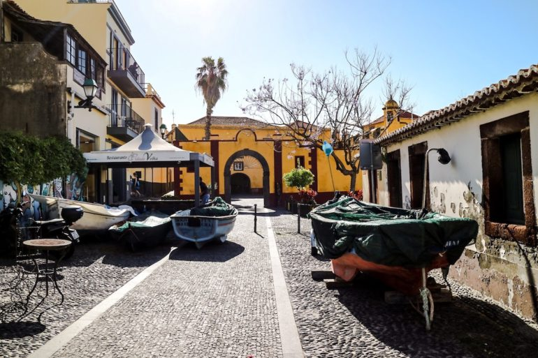 Madeira Sehenswürdigkeiten - Funchal Altstadt