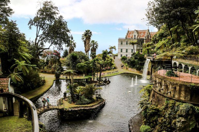 Madeira Sehenswürdigkeiten - Jardim Botanico - Monte Palace Hotel