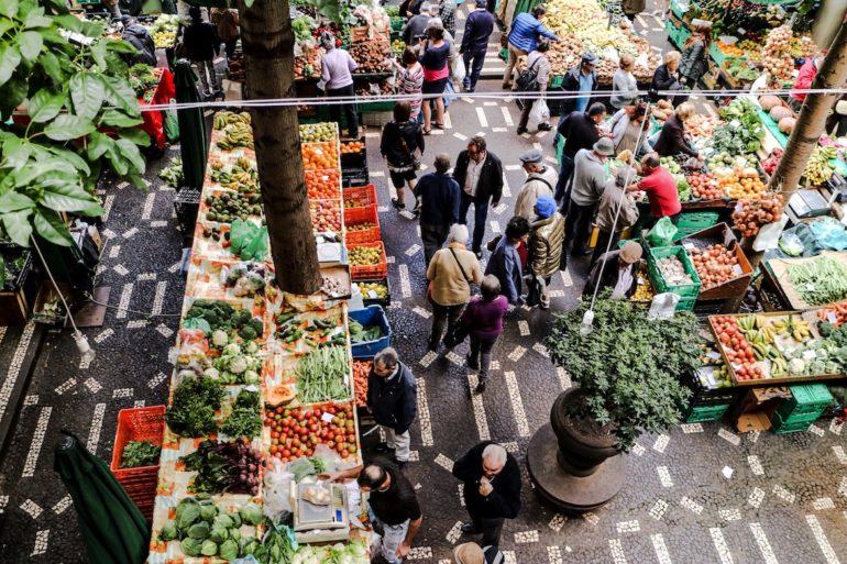 Madeira Sehenswürdigkeiten - Funchal Mercado dos Lavradores