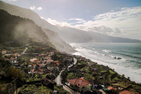 Madeira Sehenswürdigkeiten - Sao Jorge - Ausblick aufs Meer