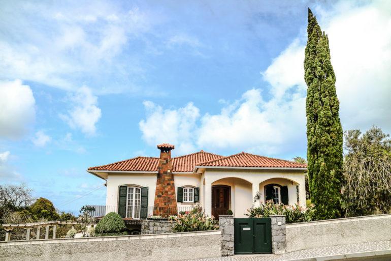Madeira Sehenswürdigkeiten - Klassisches madeirisches Haus