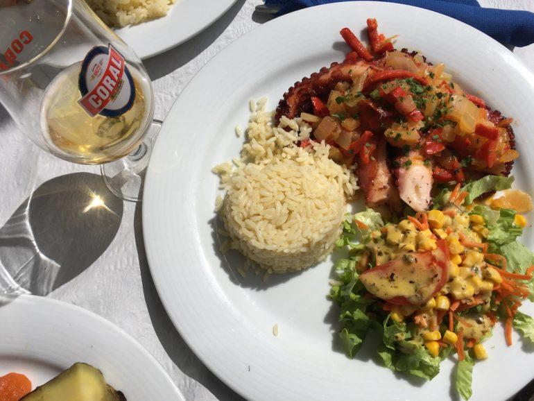 Madeira Sehenswürdigkeiten - Tintenfisch