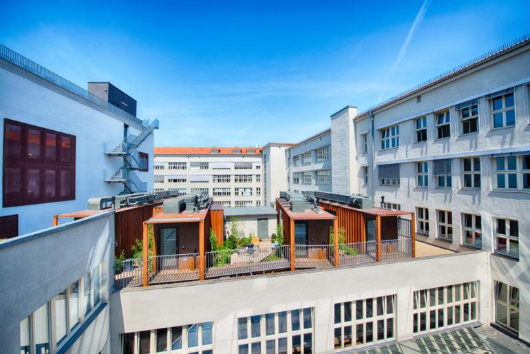 ungewöhnliche Hotels Berlin: Container im i31