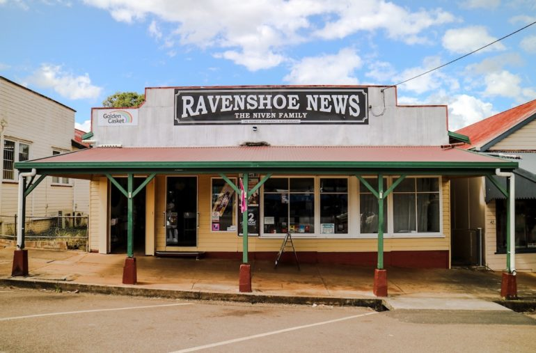 Great Barrier Reef: Zeitungsredaktion in Ravenshoe