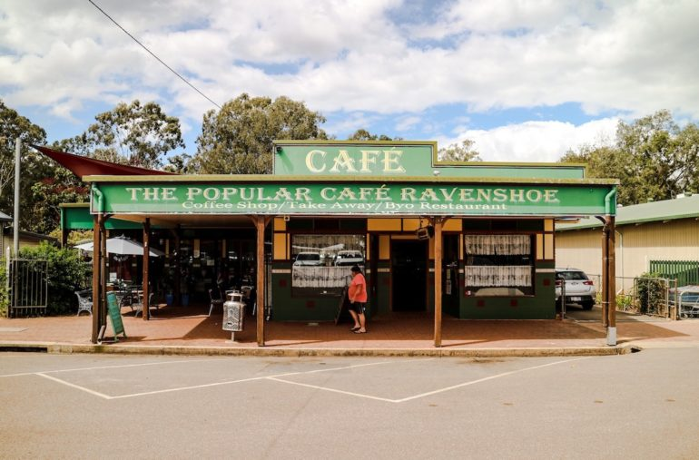 Great Barrier Reef: Cafe in Ravenshoe