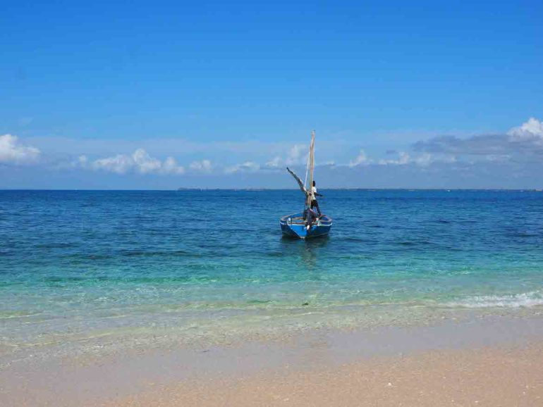 Unbekannte Reiseziele: Strand in Ilha de Mocambique