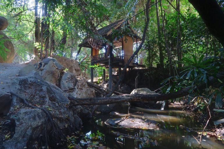 Unbekannte Reiseziele: Stelzenhaus im Dschungel von Krungthep