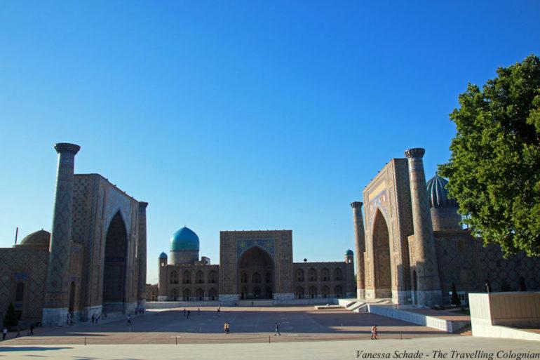 Unbekannte Reiseziele: Bauwerk in Usbekistan