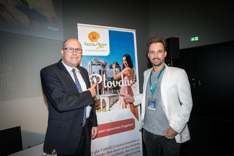 """""""Marco Buch"""" als Speaker für Bulgarien bei der ITB 2019"""