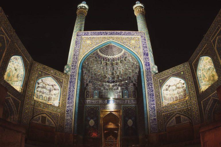 Moschee im Iran. (© Roman Warter)