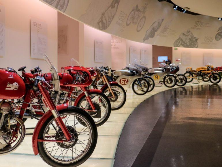 Motorräder im Ducati Museum