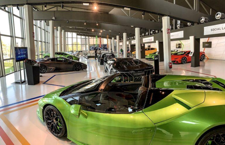Lamborghinis im Lamborghini Museum