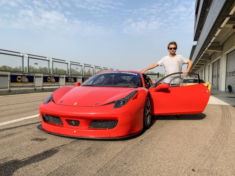 Emilia Romagna: Marco Buch mit Ferrari 458