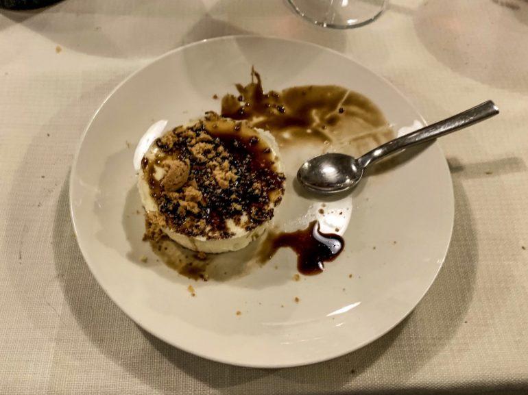 Emilia Romagna: Mascarpone Creme mit Aceto Balsamico