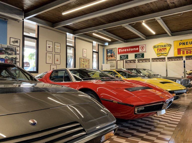 Emilia Romagna: Maserati Sportwagen