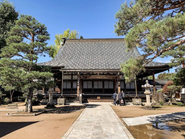 Tempel in Hida während einer Japan Reise