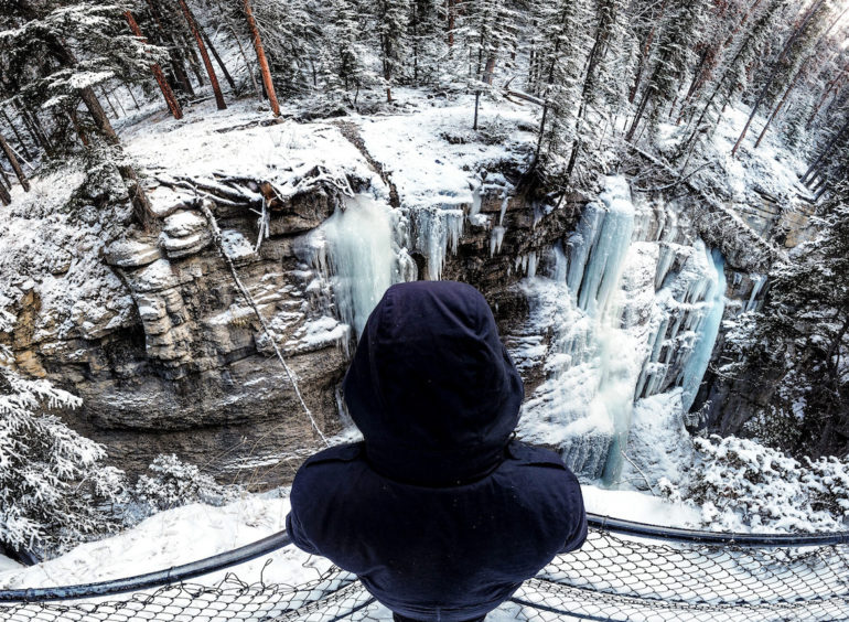 Alberta Highlights: Marco Buch am Maligne Canyon