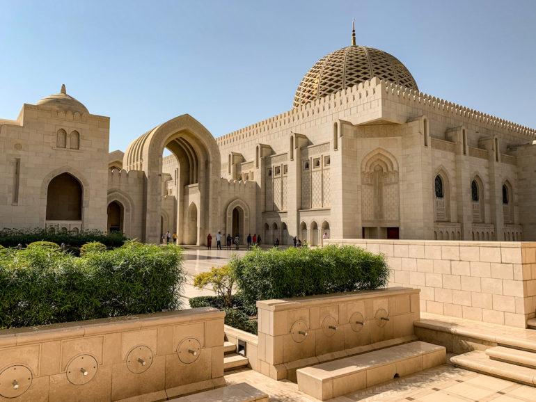 Maskat Sehenswürdigkeiten: Die große Sultan Qabus Moschee