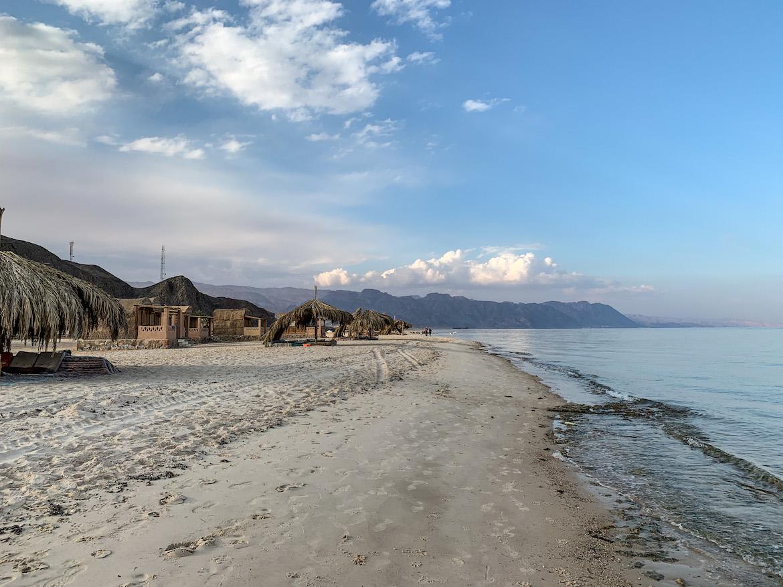 Strand bei Nuweiba