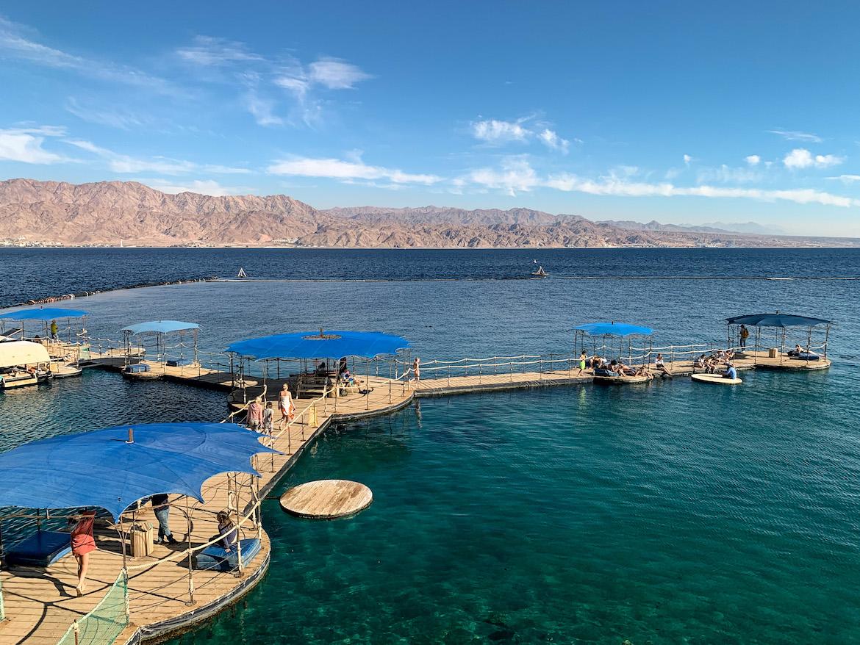 SStege im Dolphin Reef Eilat