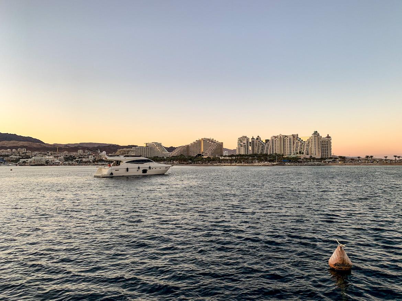 Sonnenuntergang über Eilat